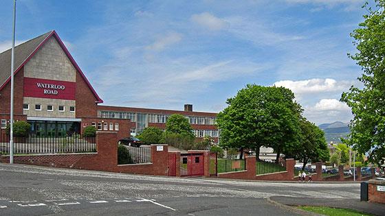 Greenock Academy Waterloo Road Location